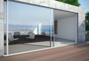 Porte finestre in alluminio