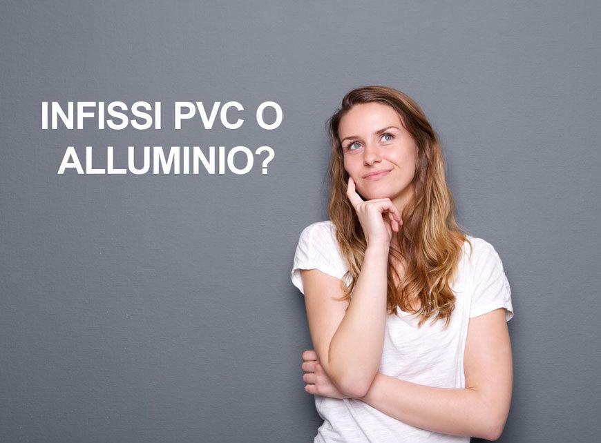 infissi Roma pvc o alluminio